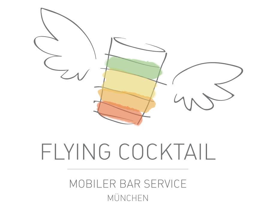 Logo: Flying Cocktail. Ihr mobiler Barservice in München